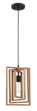 Craftmade 45091-ESP - Cube 1 Light Pendant in Espresso