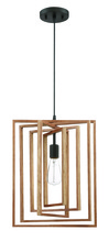 Craftmade 45092-ESP - Cube 1 Light Pendant in Espresso