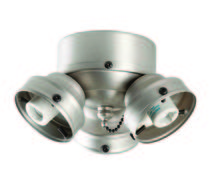 Craftmade F300L-BN - 3 Light Universal Fitter in Brushed Satin Nickel