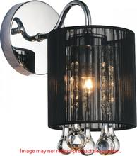 Crystal World 5006W5C-1 (S) - 1 Light Chrome Bathroom Sconce from our Water Drop collection