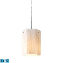 ELK Lighting 19031/1-LED - Modern Organics 1 Light LED Pendant In Polished