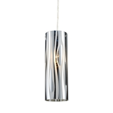 ELK Lighting 31078/1 - Chromia 1 Light Pendant In Polished Chrome