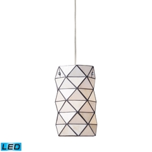 ELK Lighting 72021-1-LED - Tetra 1 Light LED Pendant In Polished Chrome And
