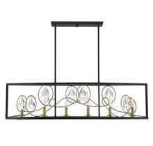 Savoy House 1-2033-6-62 - Suave 6 Light Linear Chandelier