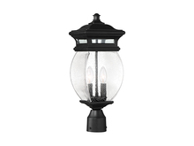 Savoy House 5-8097-BK - Seven Oaks 2 Light Post Lantern