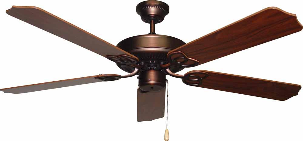 Minster Antique Bronze Ceiling Fan
