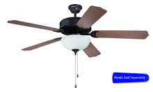 "Craftmade C207OB - Pro Builder 207 52"" Ceiling Fan with Light in Oiled Bronze (Blades Sold Separately)"
