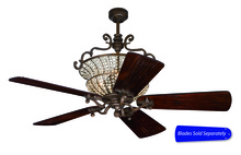 "Craftmade CR52PR - 52"" Ceiling Fan, Blade Options"