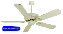 "Craftmade CV52AW - 52"" Ceiling Fan, Blade Options"