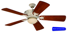 "Craftmade PV52AWD - 52"" Ceiling Fan w/Light Kit, Blade Options"