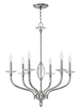 Hinkley Merchant 4006PN - Chandelier Surrey