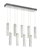 CWI Lighting 1046P32-9-601-RC - LED Chandelier with Chrome Finish