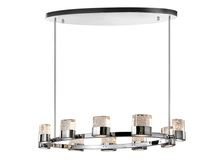CWI Lighting 1061P47-10-601-O - 10 Light Chandelier with Chrome Finish