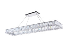 CWI Lighting 1084P44-601-RC-1C - LED Chandelier with Chrome Finish
