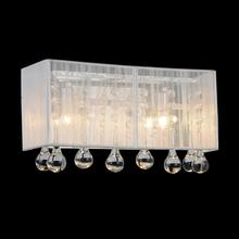 Crystal World 5005W12C-RC (S) - 1 Light Vanity Light with Chrome finish