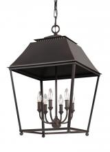 Generation Lighting - Feiss F3090/6DAC/AC - 6 - Light Foyer Pendant