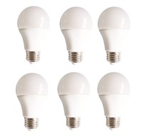 Elegant A19LED801-6PK - LED A19, 3000K, 160�, CRI80, UL, 10W, 60W EQUIVALENT, 15000HRS, LM800, NON-DIMMABLE, 3 YEARS WARRANT