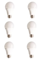 Elegant A19LED802-6PK - LED A19, 5000K, 160�, CRI80, UL, 10W, 60W EQUIVALENT, 15000HRS, LM800, NON-DIMMABLE, 3 YEARS WARRANT