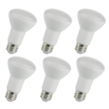 Elegant BR20LED102-6PK - LED BR20, 3000K, 105�, CRI80, ETL, 8W, 50W EQUIVALENT, 25000HRS, LM550, DIMMABLE, 2 YEARS WARRANTY,