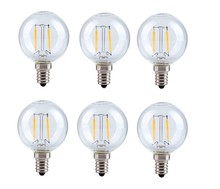 Elegant G14LED102-6PK - LED G14, 2700K, 360�, CRI80, ETL, 2W, 25W EQUIVALENT, 15000HRS, LM180, NON-DIMMABLE, 2 YEARS WARRANT