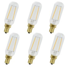 Elegant T8LED101-6PK - LED T8 TUBE LIGHT, 2200K, 360�, CRI80, ETL, 2W, 25W EQUIVALENT, 15000HRS, LM150, DIMMABLE, 2 YEARS W