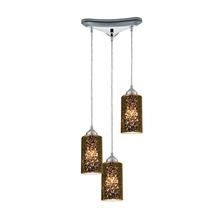 ELK Lighting 10505/3 - Illusions 3 Light Pendant In Polished Chrome