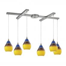 ELK Lighting 31616/6 - Dunes 6 Light P