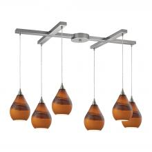 ELK Lighting 31617/6 - Dunes 6 Light P