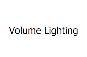 Volume Lighting